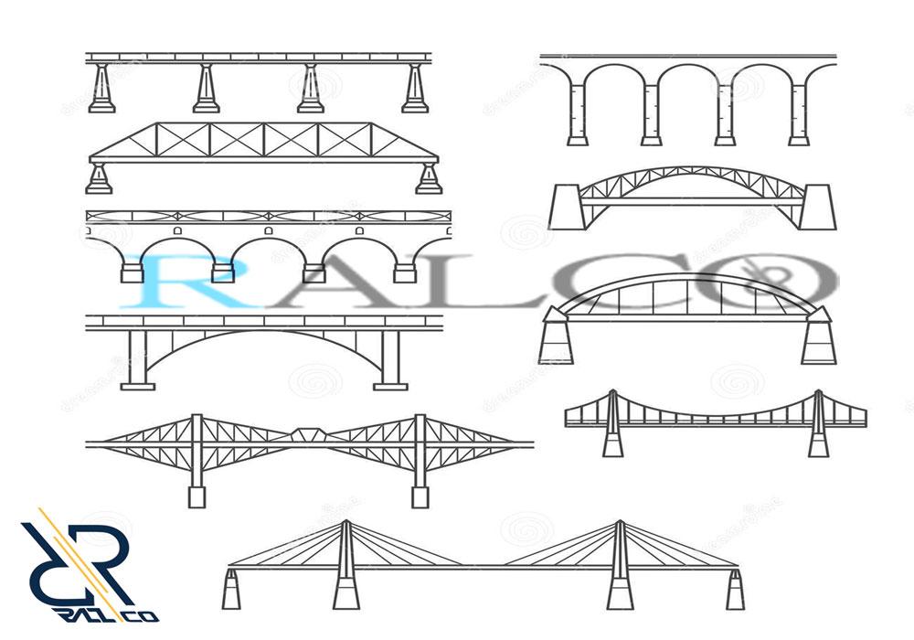 معرفی انواع پل های فلزی