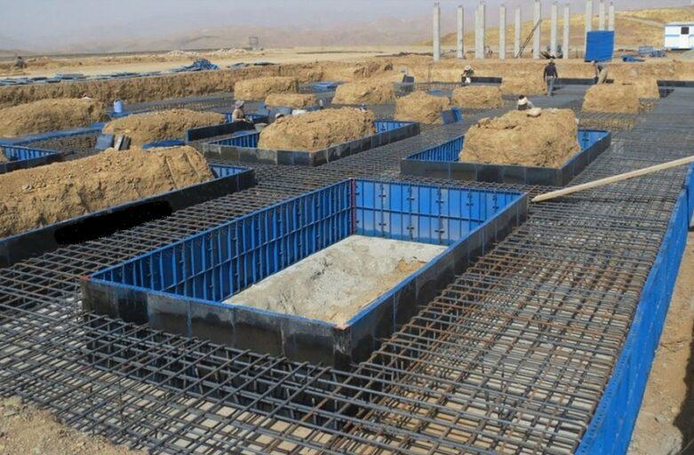پی سازی ساختمان
