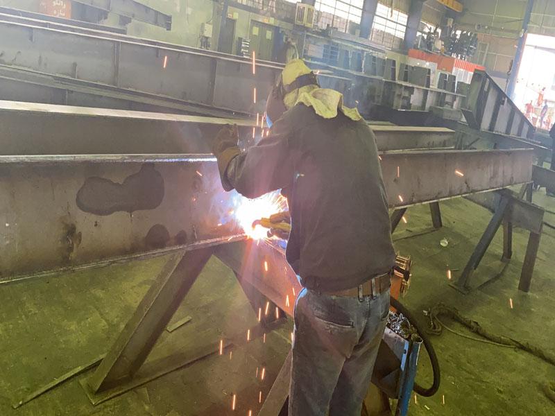 پروژه های فولادکاران